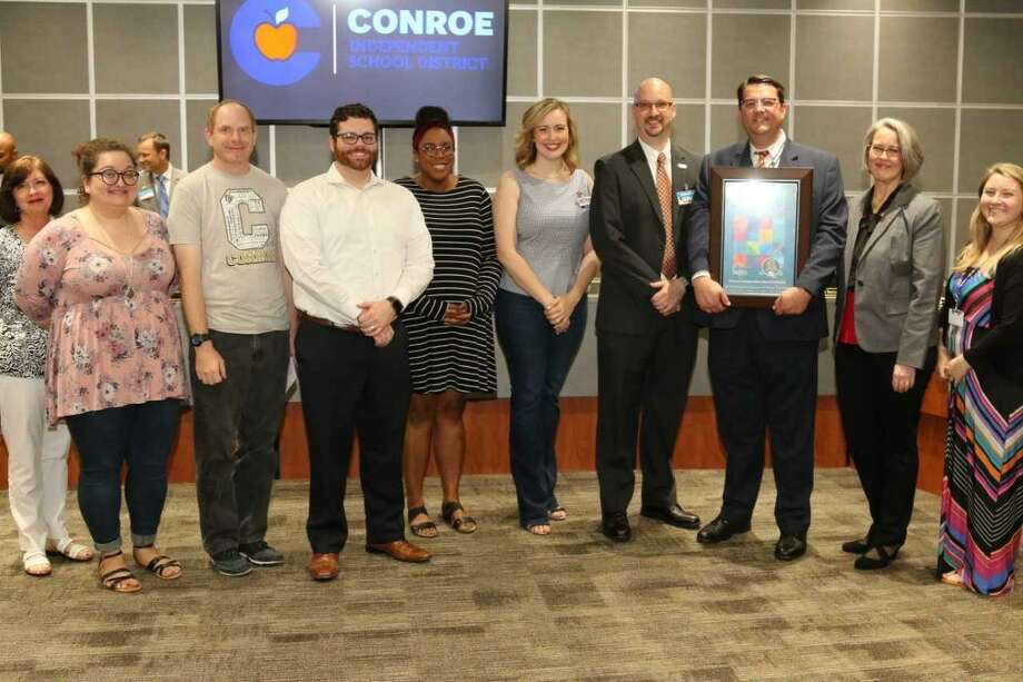 The National Association of Music Merchants, a foundation that promotes and supports music education, awarded Conroe ISD's fine arts department with another Best Communities for Music Education award. Photo: Submitted Photo / Submitted Photo