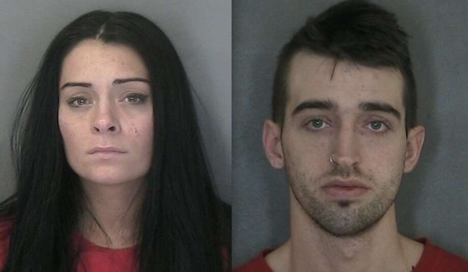 Ashley Nicole Bell, left, and Jesse James Breault Photo: Warren County Sheriff's Office
