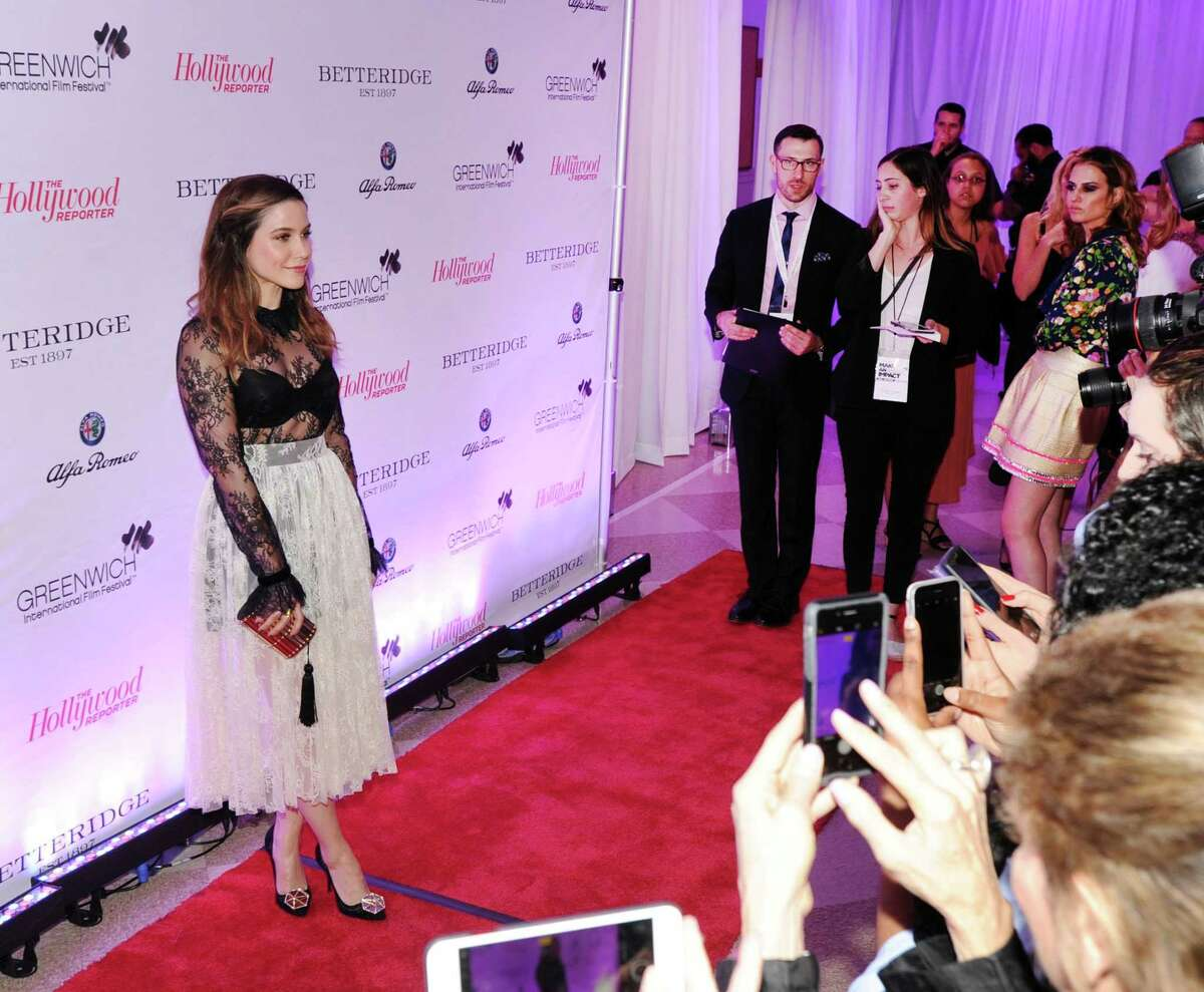 The fifth annual Greenwich International Film Festival will run from May 29 to June 2 in various locations around town. For a schedule of event, visit www.greenwichfilm.org. Above, actress Sophia Bush walks the red carpet during the GIFF's opening night party at the Boys & Girls Club of Greenwich on June 2, 2017.
