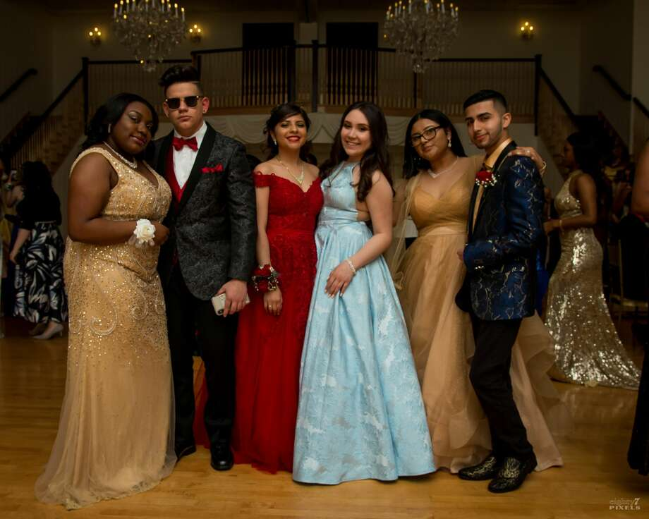 New Haven's Co-Op High School held its prom at Cascades in Hamden on May 24, 2019. Were you SEEN? Photo: Shaleah Williams - Eighty7Pixels
