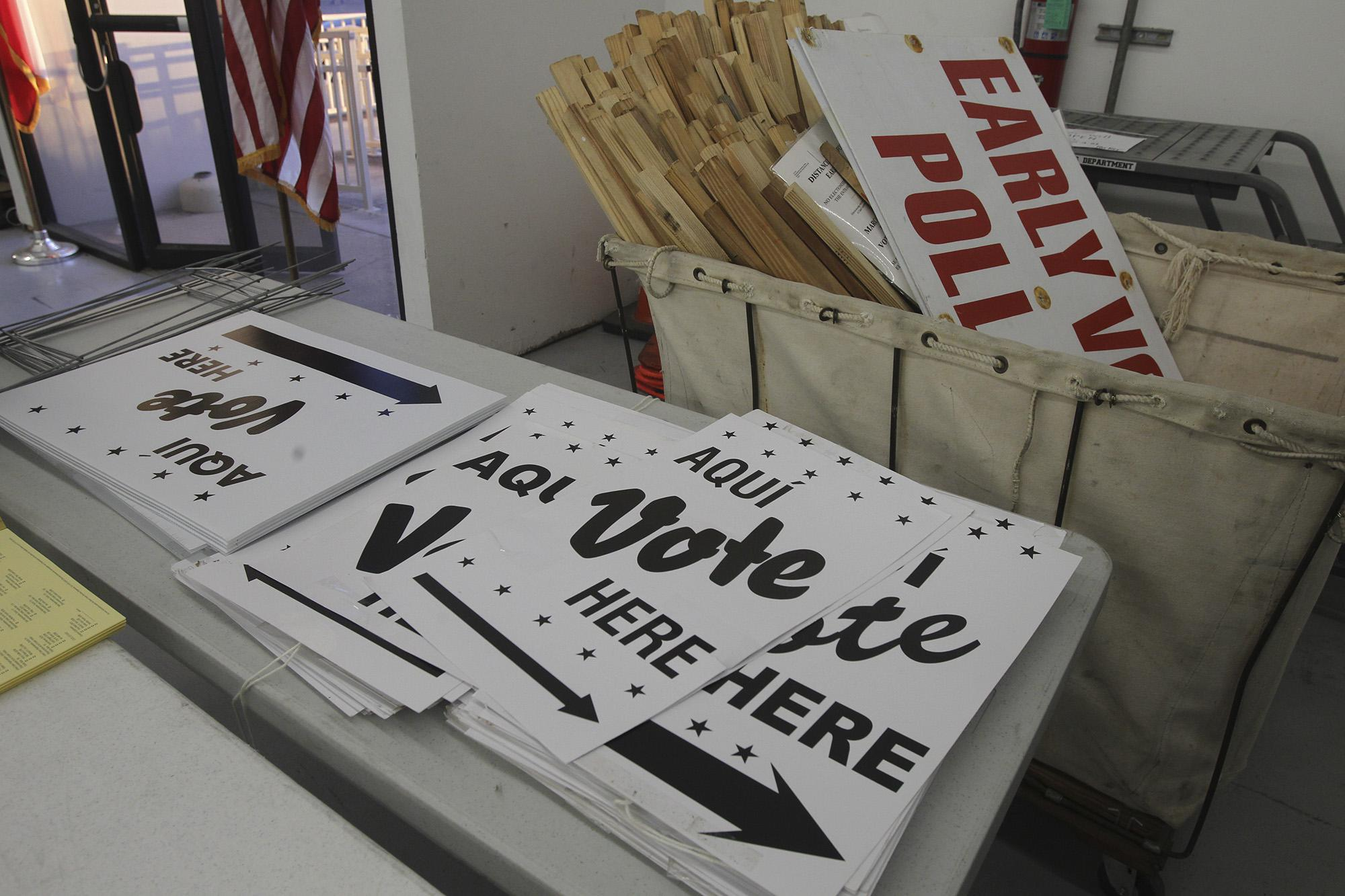 More Polling Options For Bexar Voters Expressnews Com