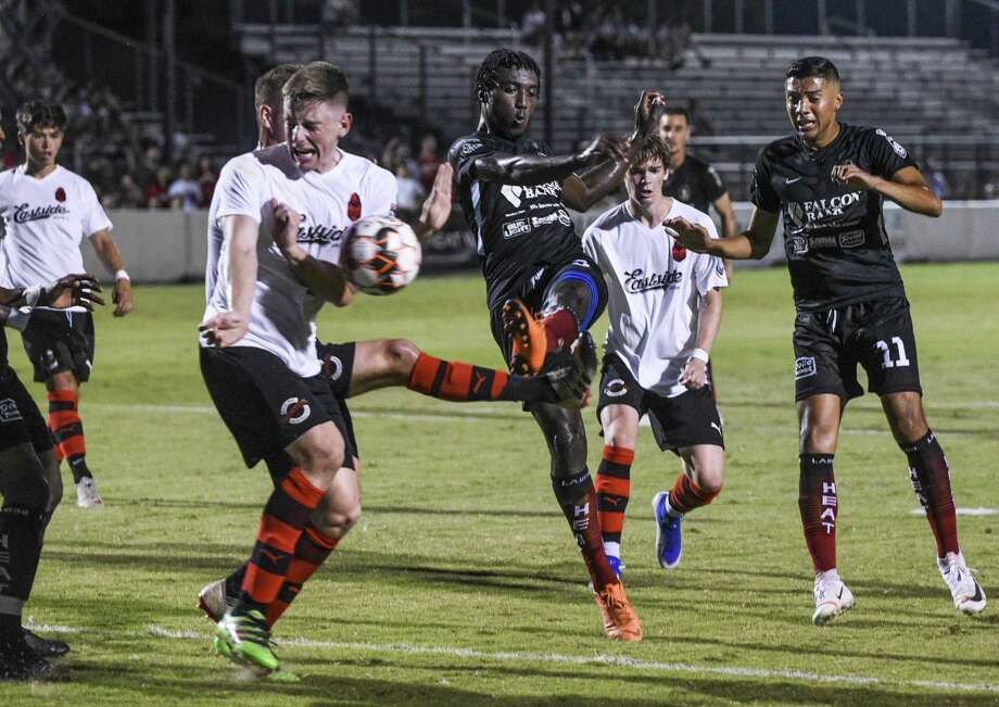 Michael Heaven and the Heat face Lone Star conference leader the Midland-Odessa Sockers FC at 8 p.m. Thursday at Dustdevil Field. Photo: Danny Zaragoza /Laredo Morning Times File
