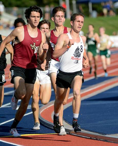 Liam Anderson of Redwood-Larkspur powered his way to a 1,600-meter trials win  in 4 minutes, 12.20 seconds at the�CIF State Track and Field Championship.
