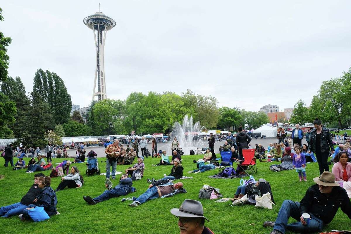 Scenes from the 48th annual Northwest Folklife Festival at Seattle Center, Friday, May 24, 2019.