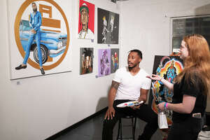 Chocolate and Art show at Sharespace - Naylor near Downtown Houston on Friday, May 24, 2019