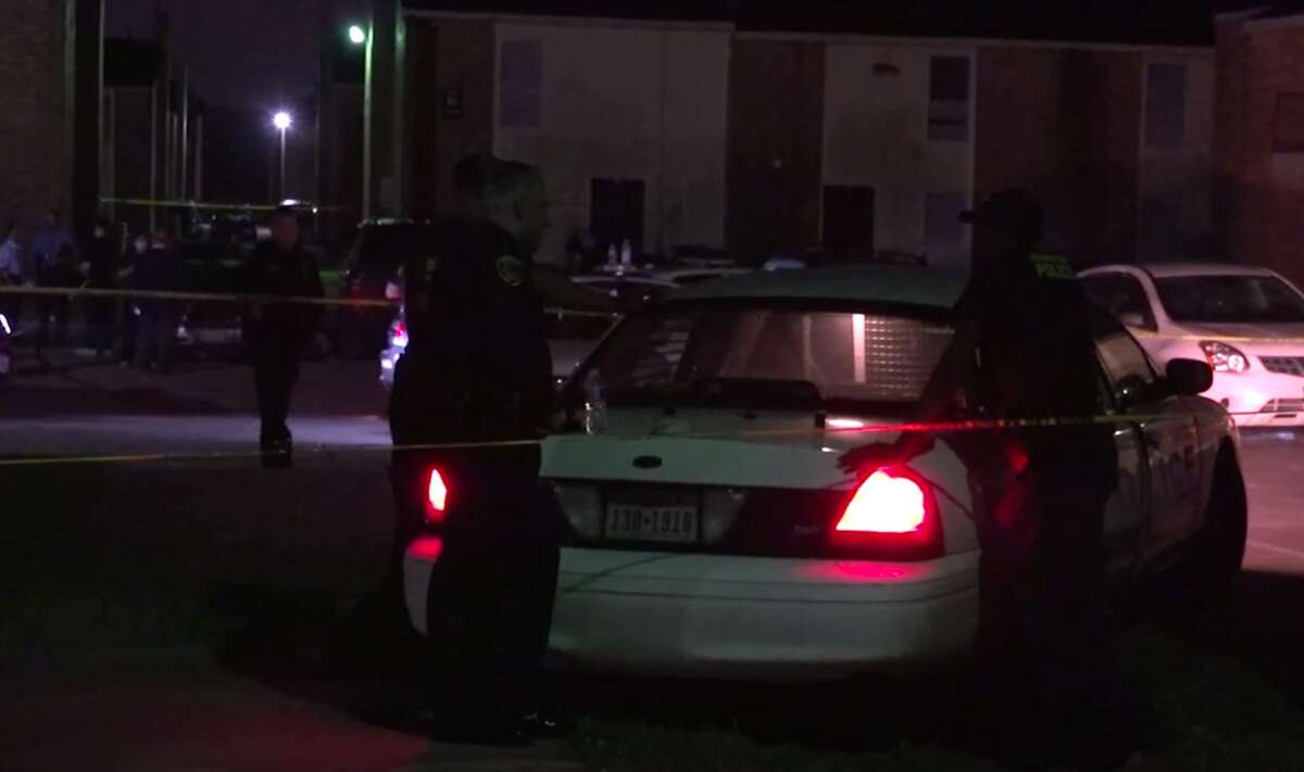A man who police say threatened officers with a pistol was fatally shot on Houston's south side on Friday. Police were called to an apartment complex in the 5901 Selinsky Road for reports that the man was trying to break into a unit there.