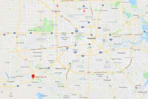 A man was fatally struck by a car early Saturday in southwest Harris County, authorities said.The man and his wife ran out of gas while driving in the 15900 block of Texas 99 in Sugar Land, Harris County Sheriff Ed Gonzalez said. He was struck by another driver, Gonzalez said. The victim has not been identified, and police said that alcohol does not appear to be a factor at this point. His wife was not injured.