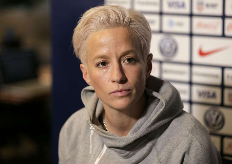 Megan Rapinoe kicks FIFA, says women's soccer not treated equally