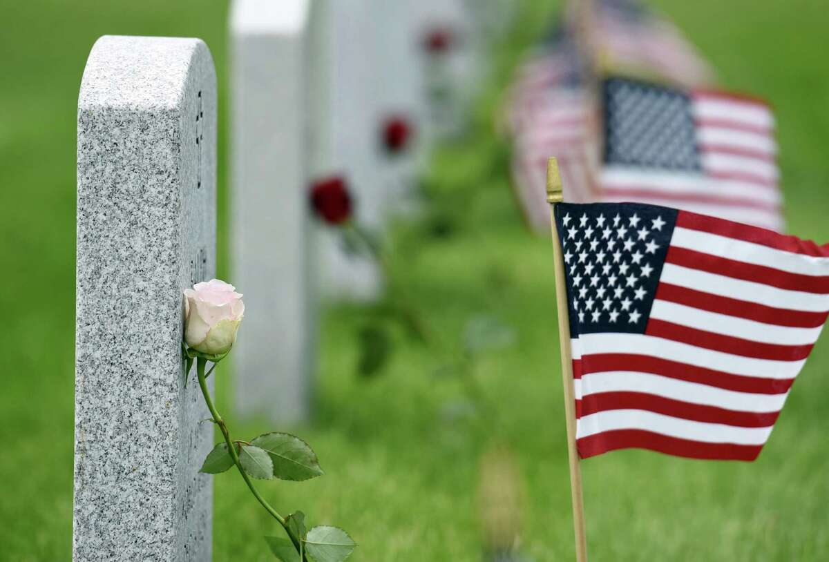 FILE. Letter writer says, 'As Memorial Day approaches, let us reverently honor all these brave ones, especially the 360,000 who died to keep our beloved country unified and free those held captive by slavery.' (Phoebe Sheehan/Times Union)