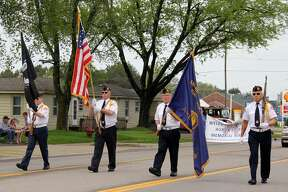 Veterans and Bad Axe residents celebrate Memorial Day Weekend during the Bad Axe Memorial Day Parade. The event capped off with a speech from U.S. Rep. Paul Mitchell, bag pipe performances and a 21 gun salute.