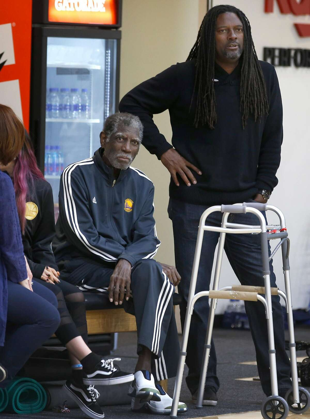 Al Attles and son Alvin III are the faces of the Attles Center for Excellence, a nonprofit program in Oakland.
