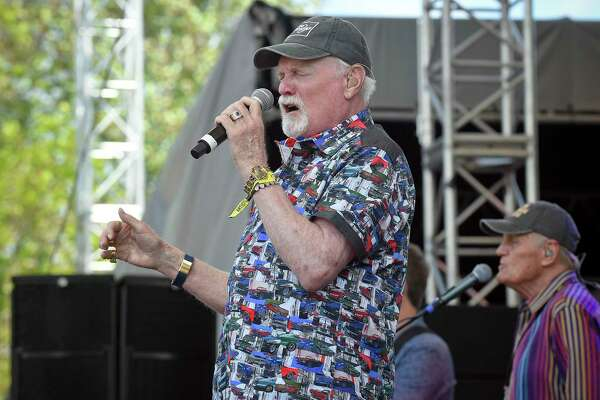 Mike Love of The Beach Boys performs during the Greenwich Town Party all day musical event at Roger Sherman Baldwin Park on May 25, 2019 in Greenwich, Connecticut.