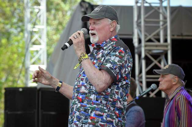 Mike Love of The Beach Boys performs during the Greenwich Town Party all day musical event at Roger Sherman Baldwin Park on May 25, 2019 in Greenwich, Connecticut. Photo: Matthew Brown, Hearst Connecticut Media / Stamford Advocate Contributed