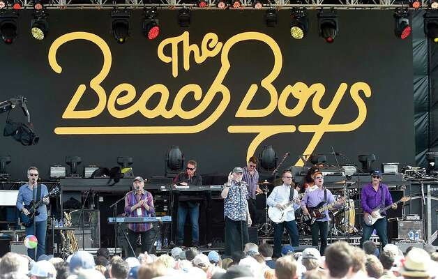 The Beach Boys perform during the Greenwich Town Party all day musical event at Roger Sherman Baldwin Park on May 25, 2019 in Greenwich, Connecticut. Photo: Matthew Brown, Hearst Connecticut Media / Stamford Advocate Contributed