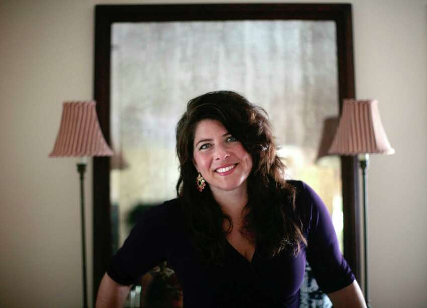 Author Naomi Wolf at her home in Millerton, N.Y., Aug. 24, 2012. Her new book,