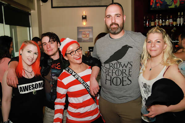 """The Crawl of Thrones, a """"Game of Thrones"""" themed bar crawl was held in New Haven on May 25, 2019. Bar crawlers dressed up in GOT-inspired costumes and enjoyed drink specials at participating bars. Were you SEEN?"""