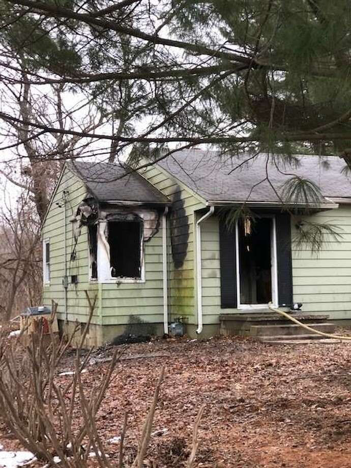 Edwardsville Fire Department's Arson Investigator Chris Guile was part of the crew that responded to this house fire on Broadview Drive in January, just west of the city limits.