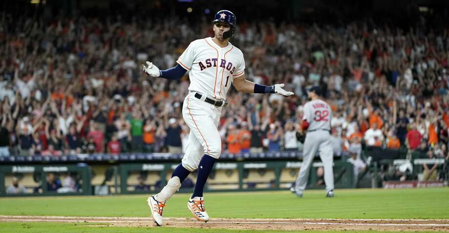 Carlos Correa lifts Astros to walkoff win over Red Sox