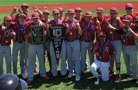 Fremont Christian celebrates first NCS championship in school history.