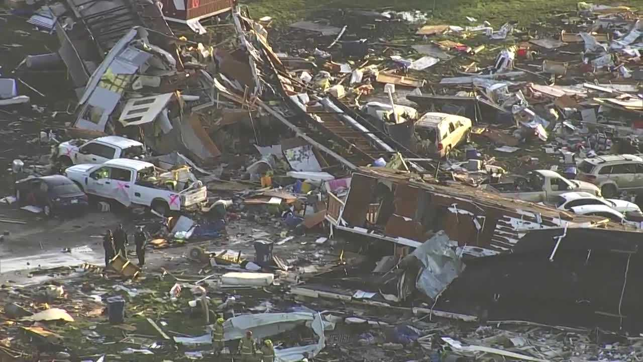 2 dead, at least 29 injured after tornado tears through central