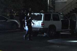 San Antonio police say one man was found dead with a gunshot to his chest overnight Sunday, May 26, 2019, at a student apartment complex near UTSA following an argument at a party there.