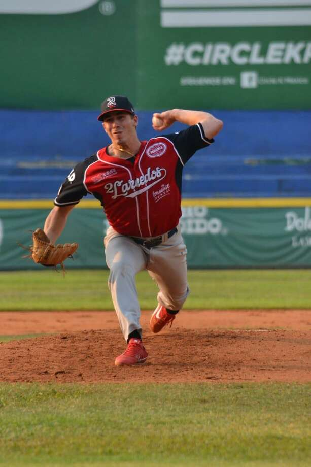 Starting pitcher Luke Heimlich lasted four innings in the Tecos' loss to the Olmecas Saturday. Photo: Courtesy Of The Tecolotes Dos Laredos