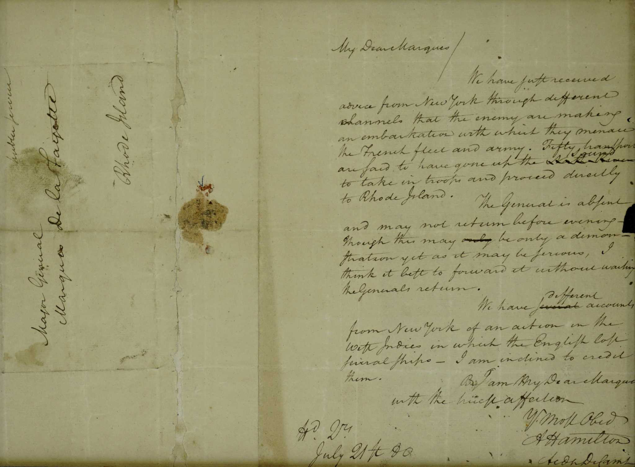What a stolen Alexander Hamilton letter reveals about the sticky business of fine art