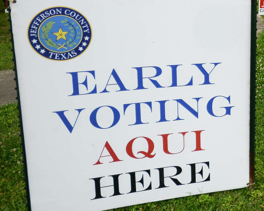Early voting starts Tuesday for the Beaumont City Council Ward 1 runoff election. Photo: Enterprise File Photo / © 2019 Beaumont Enterprise