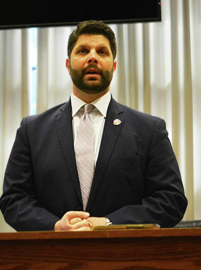Middletown Mayor Dan Drew. Photo: Cassandra Day / Hearst Media Connecticut /