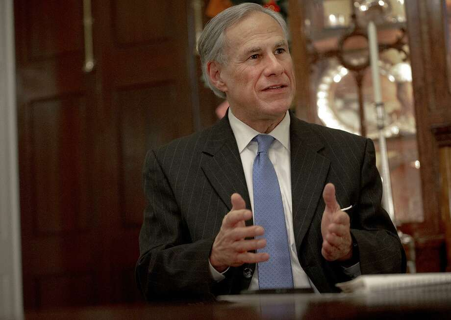 In this Dec. 6, 2018 file photo, Texas Gov. Greg Abbott speaks during an interview at the Texas Governor's Mansion, in Austin. (Nick Wagner/Austin American-Statesman) Photo: Nick Wagner / Nick Wagner / Austin American-Statesman / Austin American-Statesman