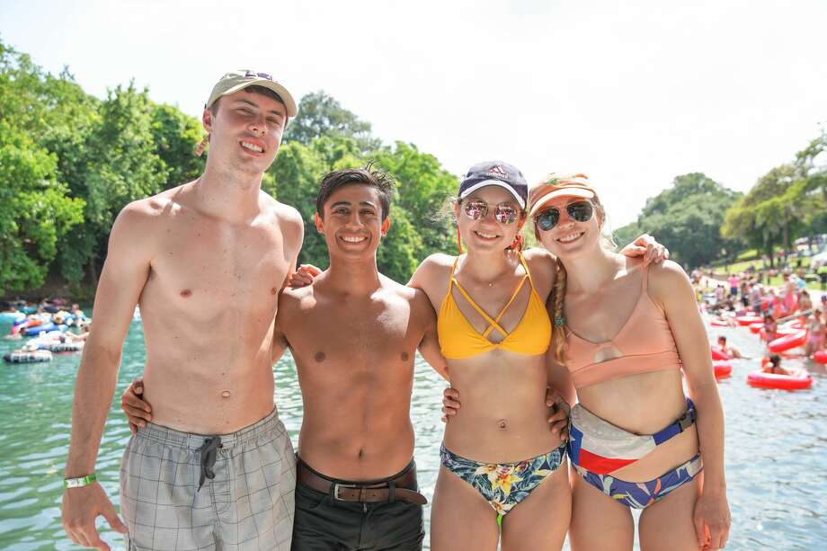 Warm temperatures during the unofficial start of the summer season brought tubers to New Braunfels' Comal and Guadalupe rivers on Saturday May 25, 2019. Photo: Stacey Lovett, For MySA.com