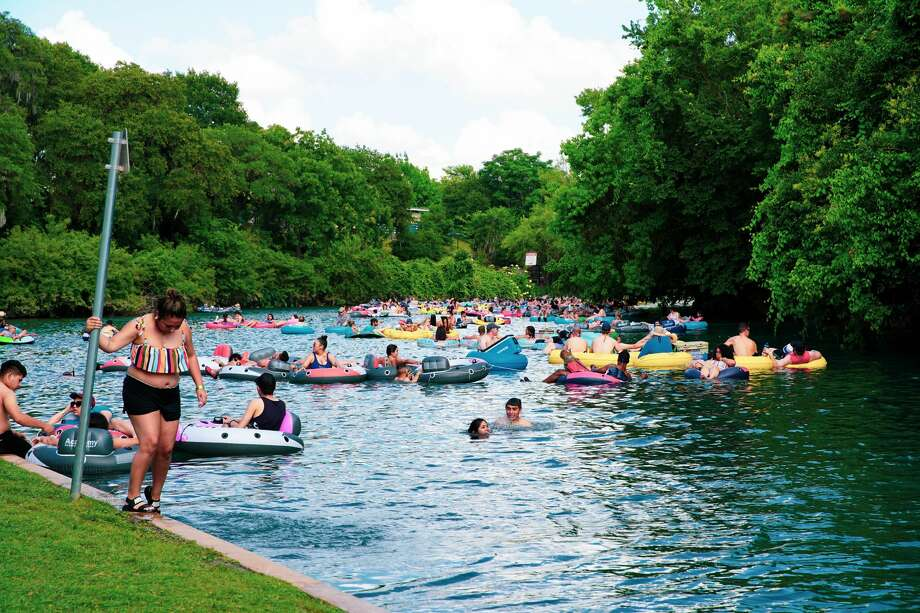 Rivers, lakes, beaches and parks in Texas are allowed to reopen Friday under Gov. Gregg Abbott's Strike Force plan, and revelers and outfitters seem ready to get the beloved summer tradition started despite concerns from many that Texas is opening too early. Photo: Stacey Lovett, For MySA.com