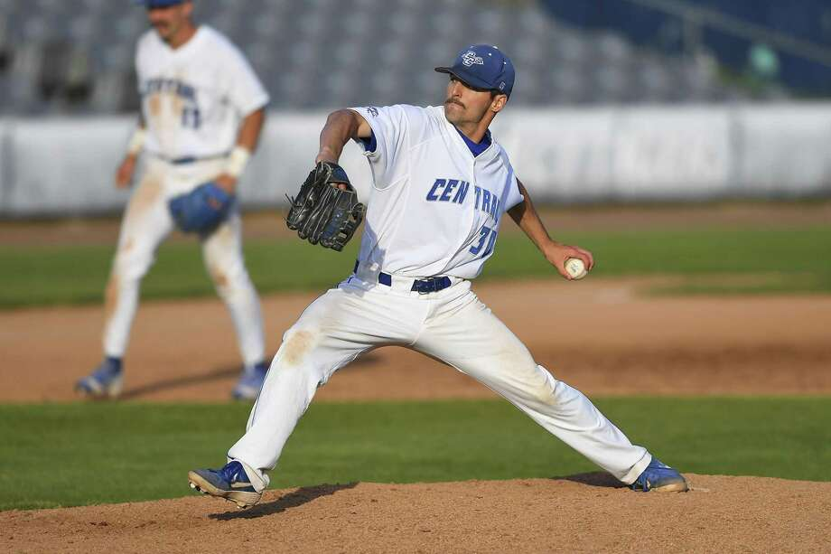 Berlin's Jared Gallagher has 1.72 ERA and nine saves for CCSU heading into NCAA tournament Photo: Steve McLaughlin / Contributed