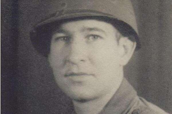 Pvt. James Lambeth of Plainview in uniform.