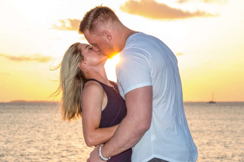 J.J. Watt and Kealia Ohai's engagement was announced on Sunday.