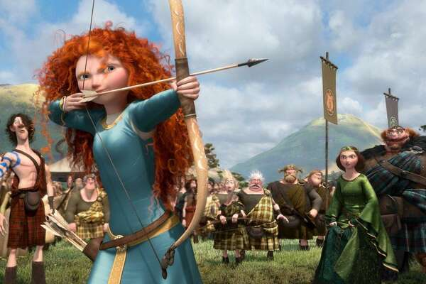 """Brave"" takes place in the Dark Ages, far before any other film in the Pixar Theory timeline. It also introduces magic to the universe through a mysterious witch (who will be important later on). This magic, powered by closeness to humans, can bring inanimate objects to life, turn people into animals and turn doors into magical portals."