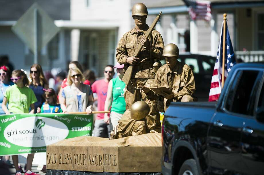 FILE — Midland's annual Memorial Day Parade rolls down Rodd Street on Monday, May 27, 2019. (Katy Kildee/kkildee@mdn.net) Photo: (Katy Kildee/kkildee@mdn.net)