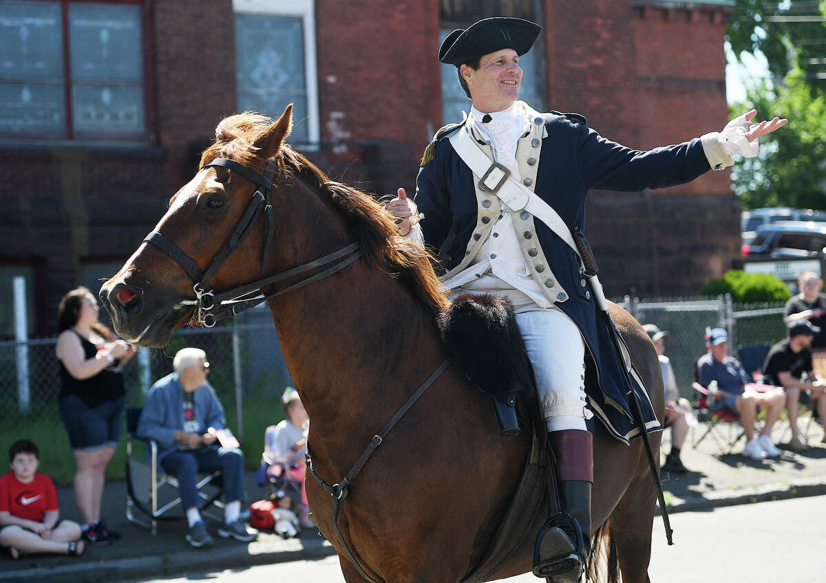 The Derby Shelton Memorial Day Parade in Derby, Conn. on Monday, May 27, 2019.