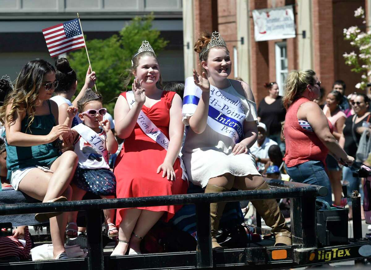West Haven, Connecticut - Monday, May 27, 2019: The West Haven Memorial Day Parade Monday in West Haven.