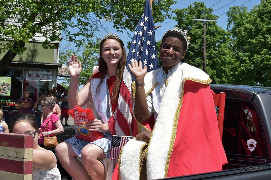 The 2019 Winsted, CT Memorial Day Parade Photo: Lara Green- Kazlauskas/ Hearst Media