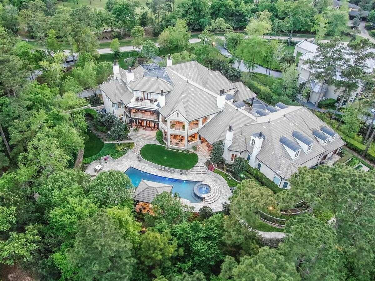 The Woodlands:51 Grand Regency Circle Listprice: $7.495 million Squarefeet: 21,696