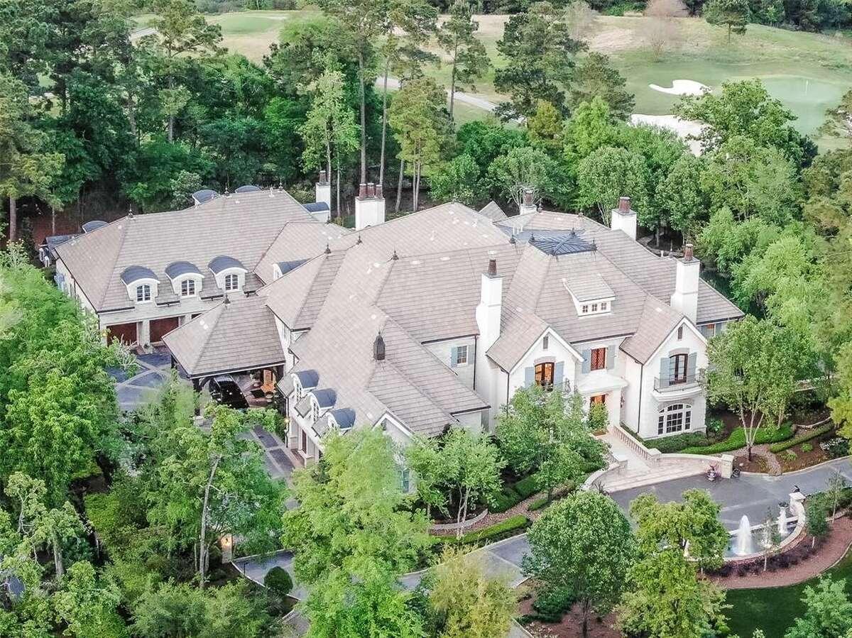 The Woodlands: 51 Grand Regency Circle List price: $7.495 million Square feet: 21,696