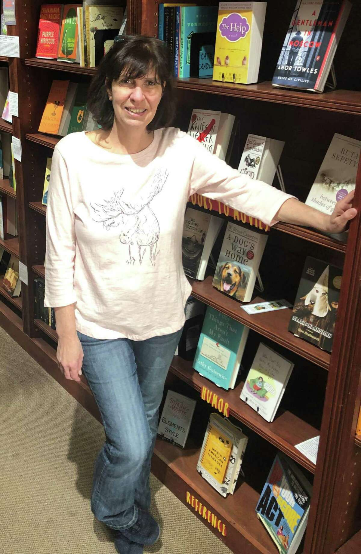 """Bank Street Book Nook owner Terry Sherrer said she will """"miss"""" being part of the community."""