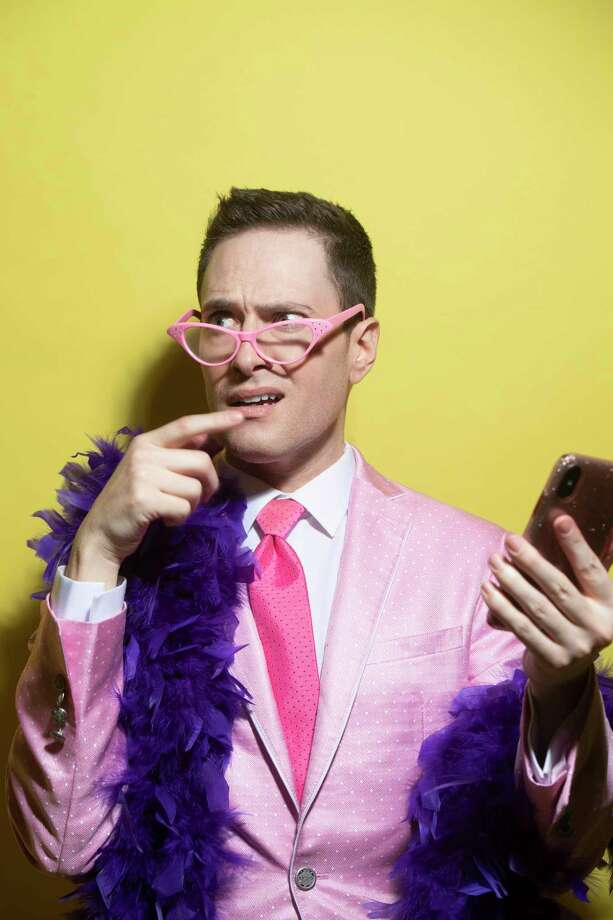Since 2016, Randy Rainbow, a Broadway hopeful who fled from cattle-call auditions, has found his own spotlight through the internet. Photo: Washington Post Photo By Marvin Joseph / The Washington Post