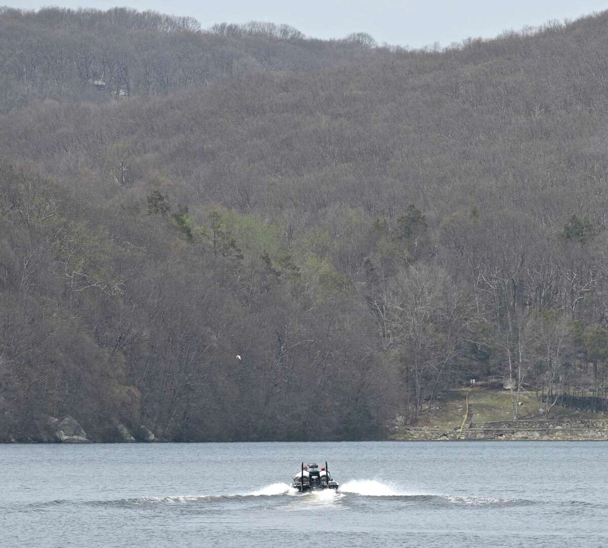 Aug. 1, 2001: Carbon monoxide from a motor boat's exhaust fumes may have contributed to the death of a 14-year-old boy who drowned in the lake. Christopher Iacovo and a friend were being towed behind a boat piloted by his father, Robert Iacovo. An autopsy showed that carbon monoxide in Iacovo's blood may have caused unconsciousness that contributed to his drowning. The teen slipped off the rear of the platform that was being towed. His body was recovered the next morning.
