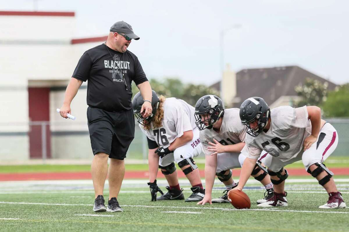 Pearland head football coach Ricky Tullos would like to see District 23-6A tweaked in the upcoming realignment.