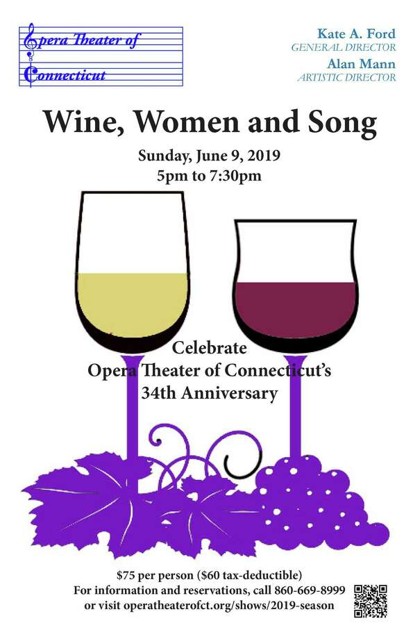 "Opera Theater of Connecticut presents its 15th annual gala, ""Wine, Women and Song,"" at the Woodwinds in Madison on June 9. Photo: Contributed Photo"