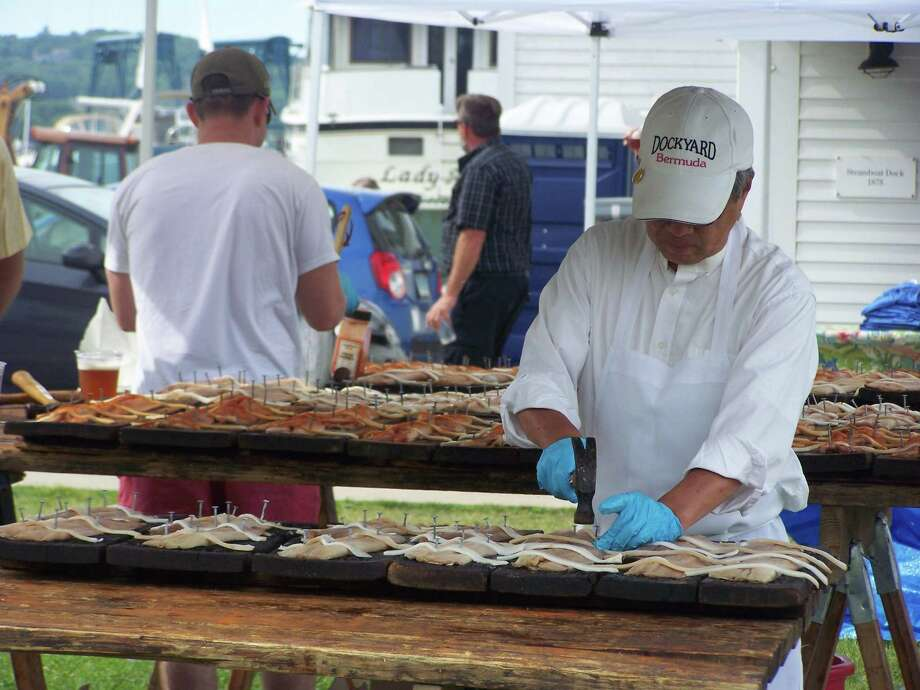 The Connecticut River Museum will host the annual shad bake Saturday in Essex. The state designated the American shad as official state fish in 2003. Photo: Contributed Photo