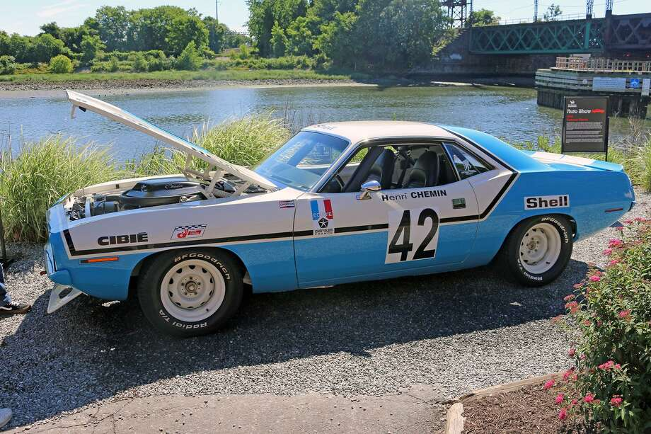 """Visitors to the June 8 Maritime Aquarium at Norwalk's second annual car show, """"Barracudas, Marlins & More Show Cars from the Sea,"""" can expect to see a Barracuda. Photo: Maritime Aquarium At Norwalk / Contributed Photo"""