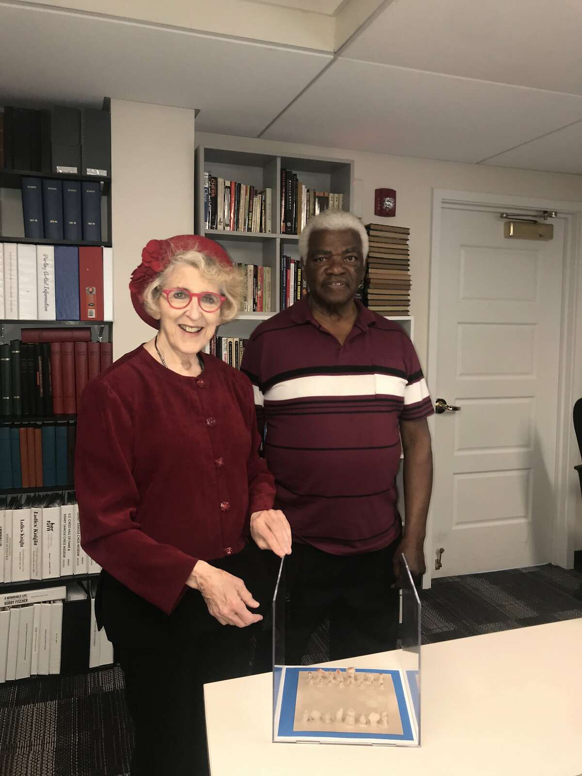 Carol Ruth Silver and Claude Liggins, both Freedom riders